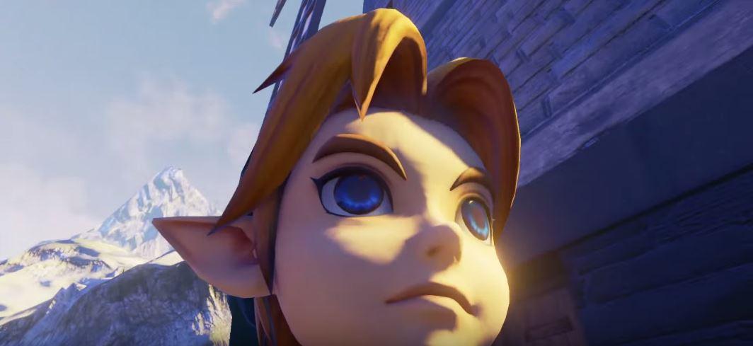 Así se ve The Legend of Zelda: Ocarina of Time bajo el Unreal Engine 4