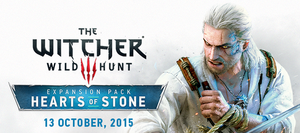 The Witcher 3 Hearts of Stone - Portada