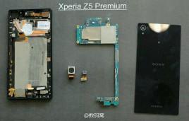 Xperia Z5 Premium refrigeración