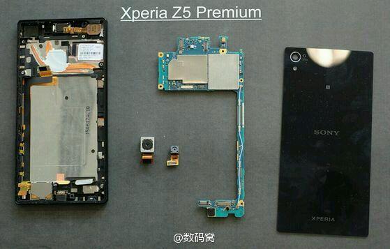 El Xperia Z5 Premium usa dos heatpipes de cobre para el Snapdragon 810