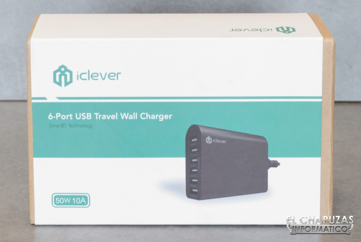 iClever 6-Port USB Travel Wall Charger 01