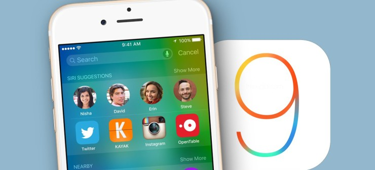 iOS 9 iPhone Portada