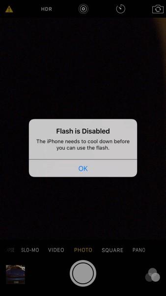 iPhone 6s sobrecalentamiento cámara