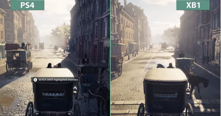 Assassins Creed Syndicate Playstation 4 vs Xbox One