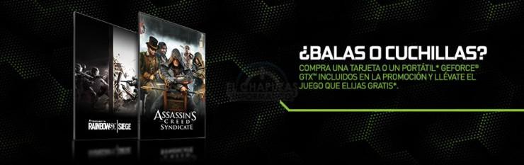 Bundle juegos Nvidia octubre 2015