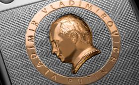 Caviar Ti Gold Supremo Putin «Anniversario Edizione 63» - Putinphone, iPhone 6s, Vladimir Putin (1)