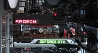 CrosSLI Radeon Fury X y GeForce GTX 980 Ti