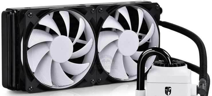 DeepCool GamerStorm Captain 240 white - blanco portada