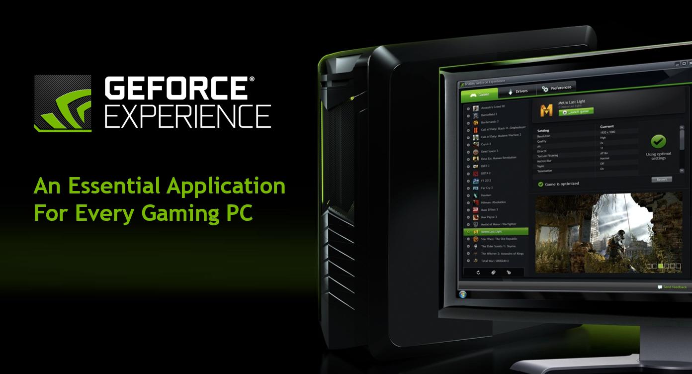 Nvidia GeForce Experience 3.6 añade soporte a las API Vulkan y OpenGL