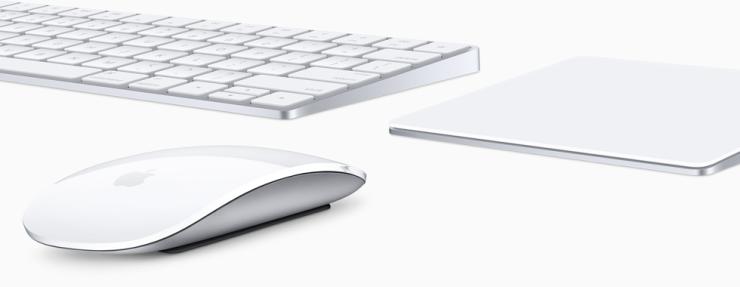 Magic Keyboard, Magic Track Pad 2 y Magic Mouse 2