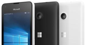 Nokia Lumia 550 - Portada