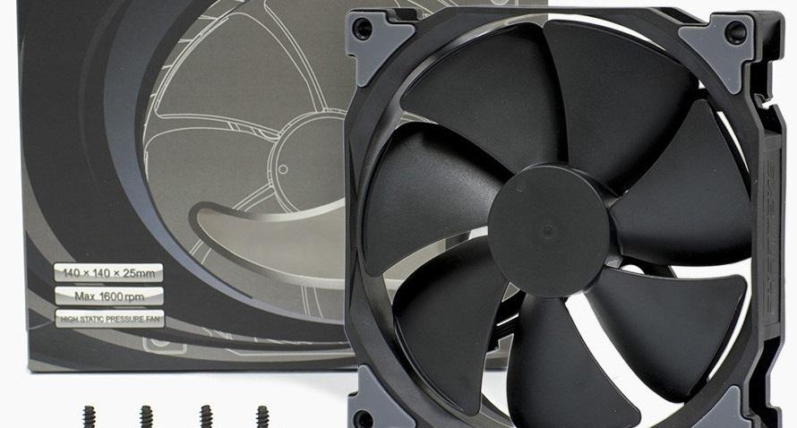 Phanteks anuncia sus ventiladores MP y SP Black Edition