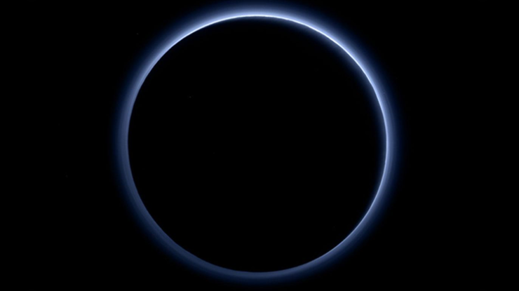 Plutón cielo y agua