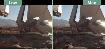 Star Wars Battlefrond caldiad baja vs ultra