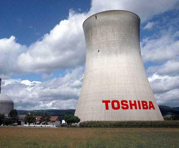 Toshiba negocio nuclear