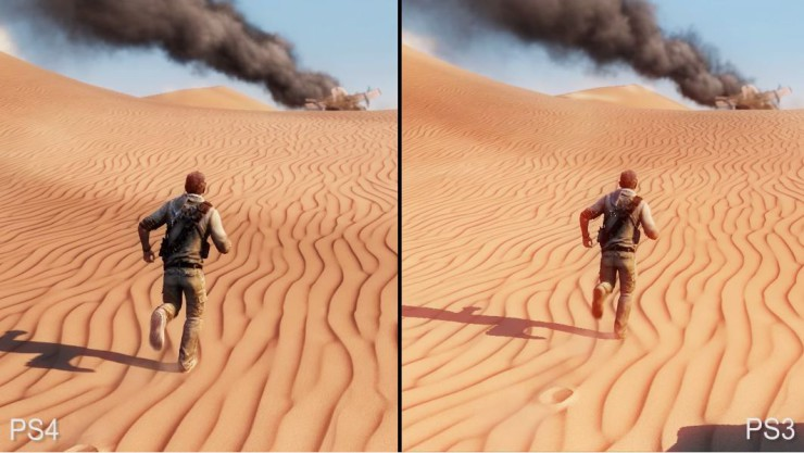 Uncharted 3 La traición de Drake en PlayStation 4 vs PlayStation 3