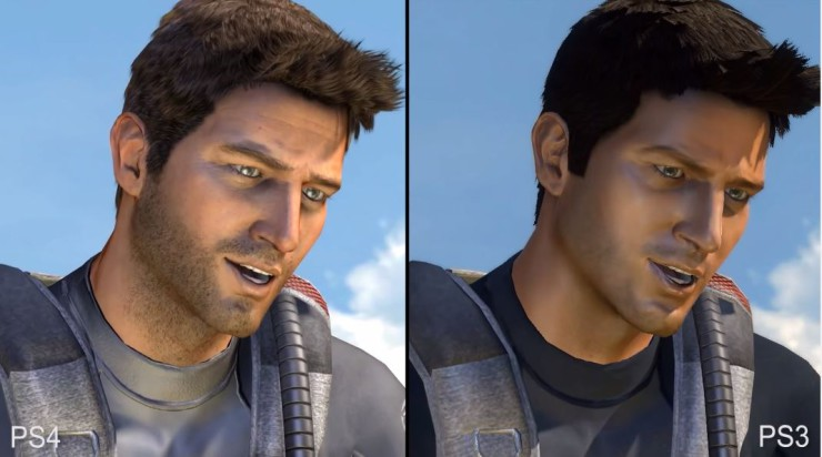 Uncharted Drake's Fortune PS4 vs PS3
