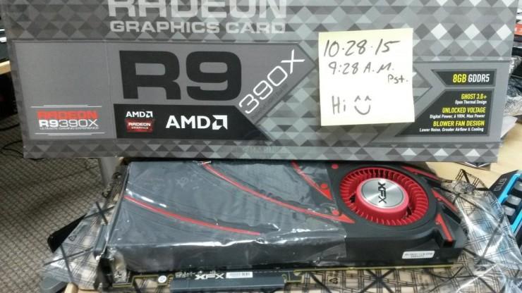 XFX Radeon R9 390X Blower - Turbina
