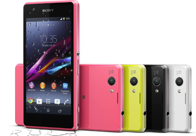 sony mobile xperia z5 compact