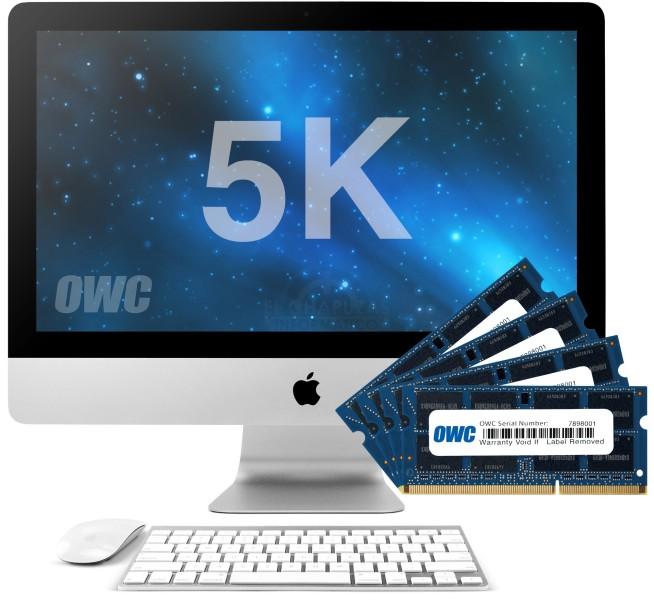 iMac - OWC MaxRAM