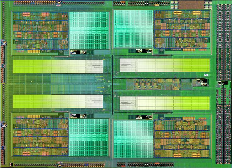 AMD Bulldozer die
