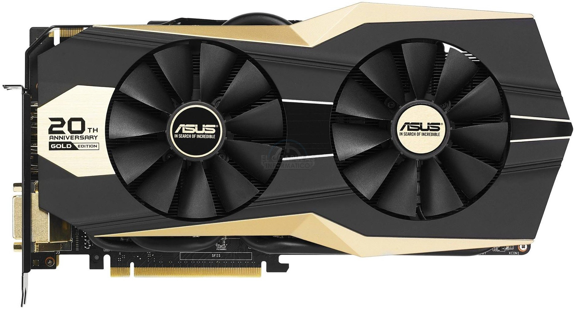 Asus GeForce GTX 980 Ti 20th Anniversary Gold Edition