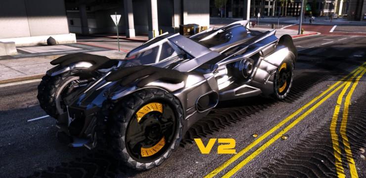 Batmovil - Grand Theft Auto V
