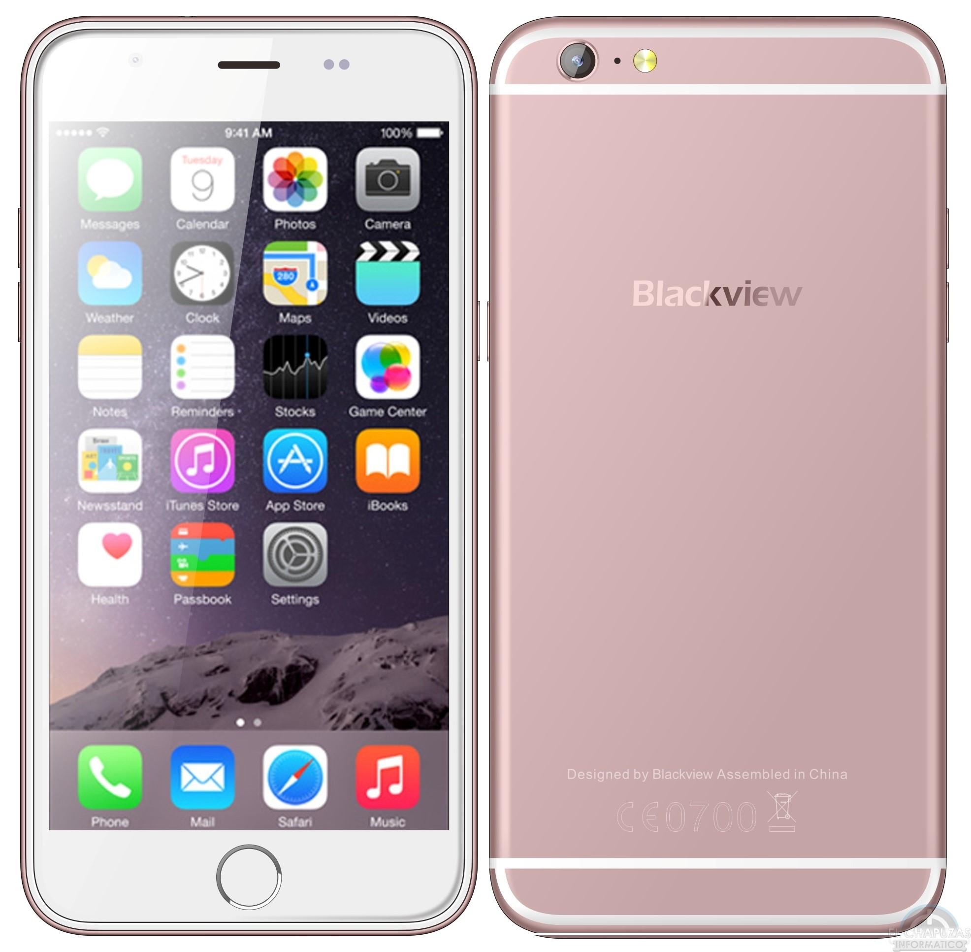 Blackview Ultra Plus Clon Del Iphone 6s Plus El