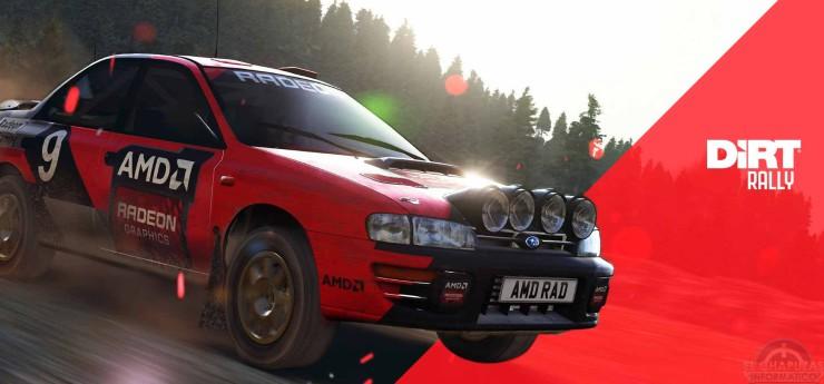 DiRT Rallye AMD
