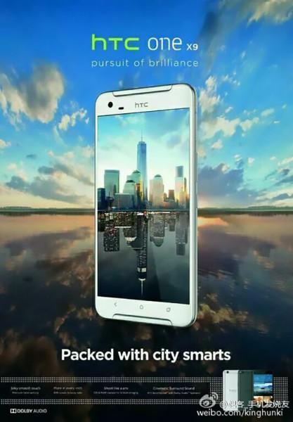 HTC One X9 - Filtracion