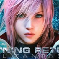 Lightning Returns Final FantasyY XIII - Portada