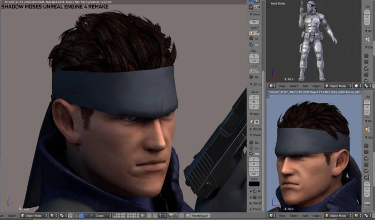 Metal Gear Solid - Unreal Engine 4