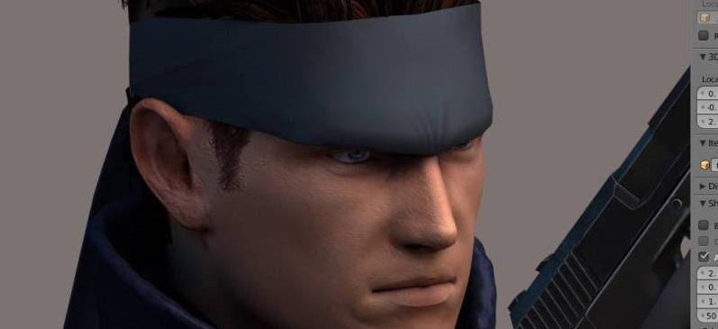 Así se ve el Metal Gear Solid usando el Unreal Engine 4