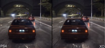 Need for Speed PlayStation 4 vs Xbox One