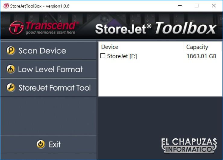 Transcend StoreJet 25H3 21