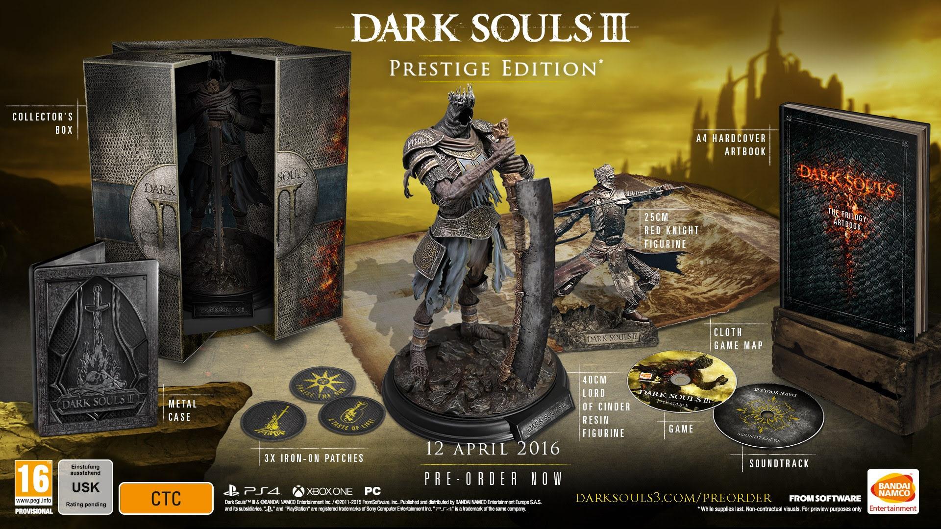 Dark Souls 3 Aterrizará En Europa El Próximo 12 De Abril