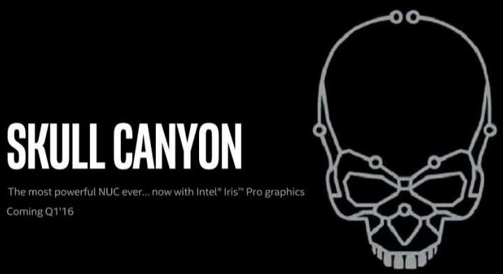 Intel Skull Canyon, el Intel NUC más potente hasta la fecha