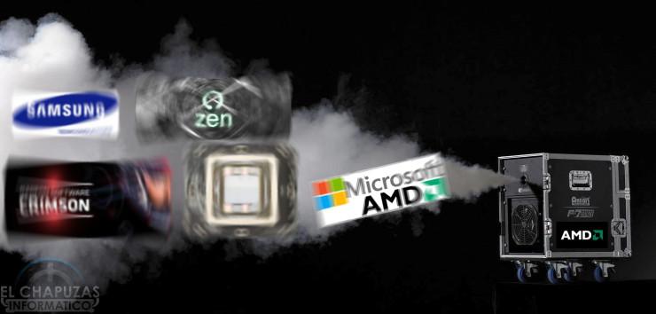 Máquina de humo AMD