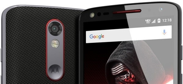Motorola DROID Turbo 2 Star Wars Edition - Portada