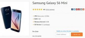 Samsung Galaxy S6 Mini - Portada