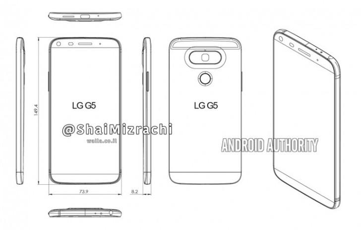 Diagrama LG G5