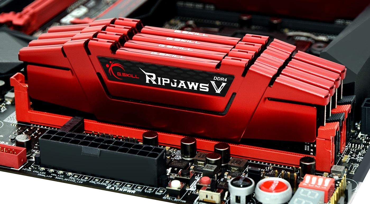 #CES2016: G.Skill Ripjaws V DDR4 128GB @ 3000 MHz CL14