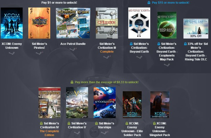 Humble Bundle Firaxis Games