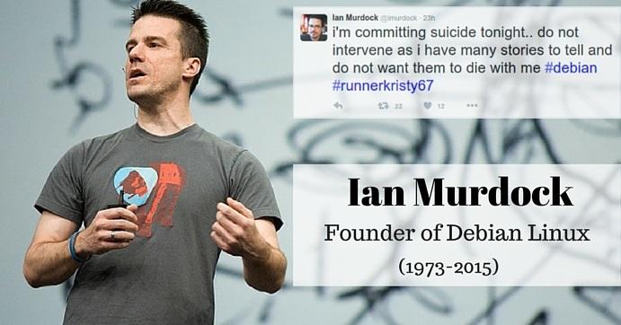 Ian Murdock, fundador de Debian, muere en extrañas circunstancias