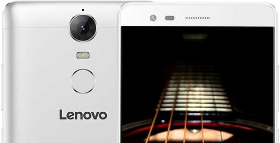 Lenovo K5 Note - Portada