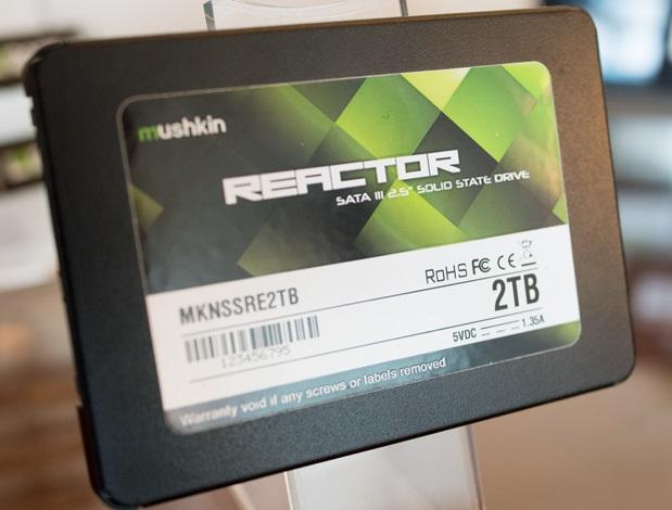 #CES2016: Mushkin Reactor, SSD de hasta 4TB de capacidad