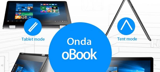 Onda oBOOK 11: Ultrabook convertible con un x5-Z8300 + 4GB RAM por 284€