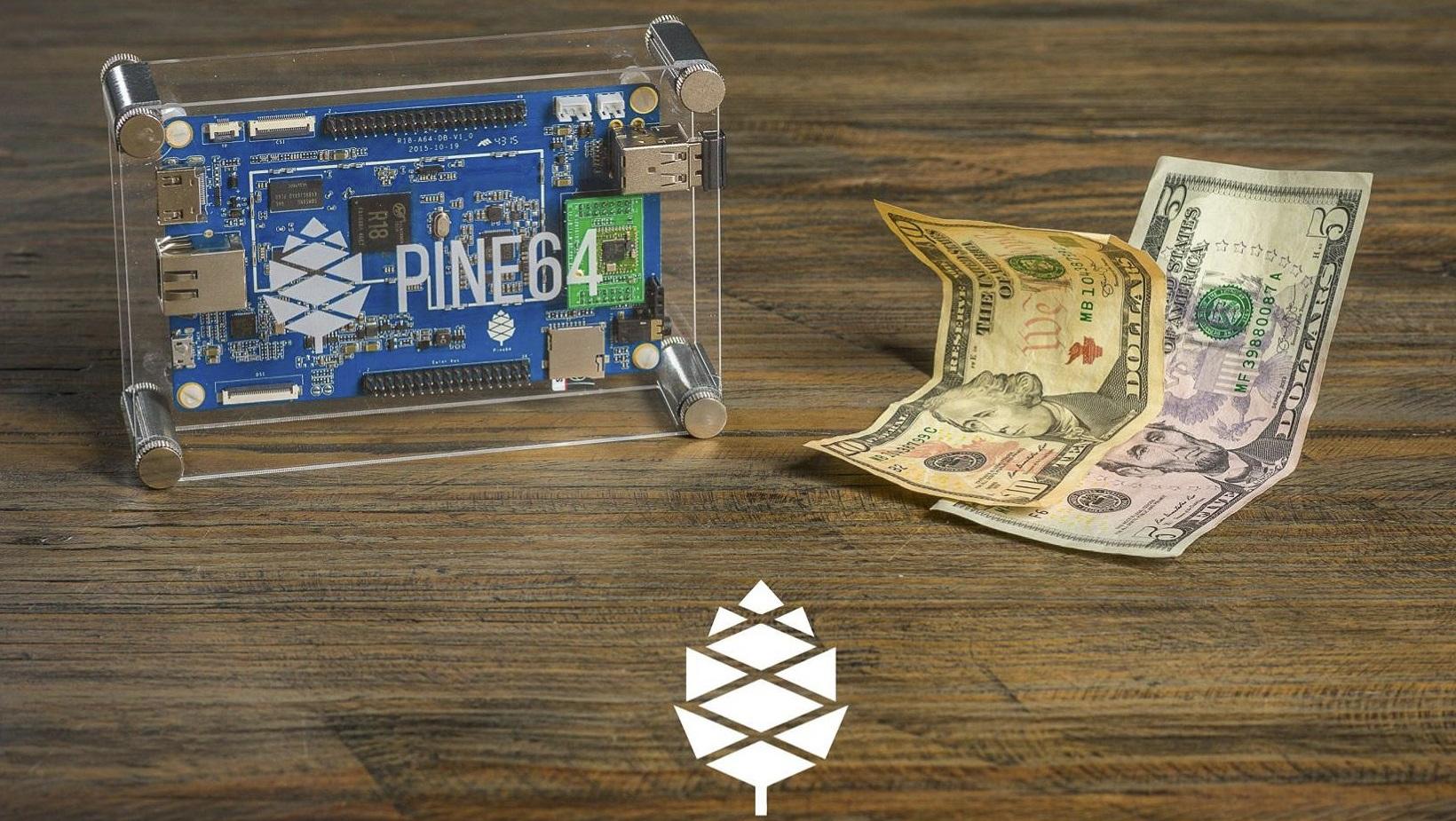 Pine A64: Ordenador x64 por 14€ con Android 5.1 capaz de mover 4K