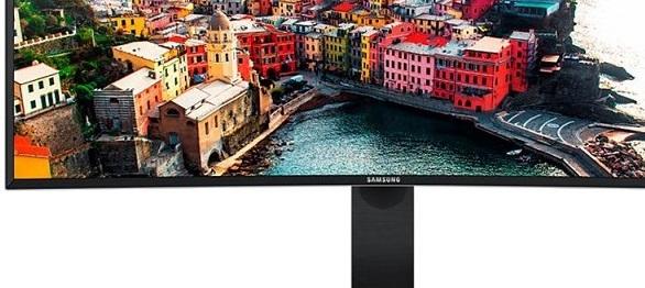 Samsung monitor VA ultra panorámico - Portada