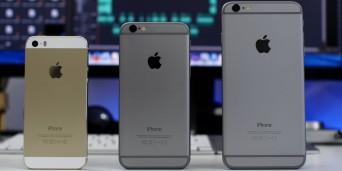 iPhone 5s vs iPhone 6s vs iPhone 6s Plus